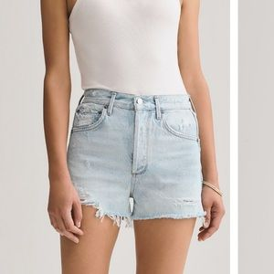 Urban Outfitters Agolde Jaden Highwaisted Shorts